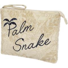 パームスネイク PALM SNAKEコール&ボア ポーチ(A4サイズ)