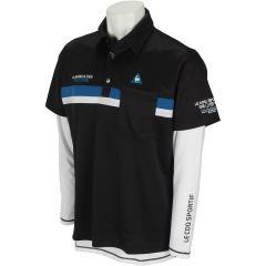 ルコックゴルフ Le coq sportif GOLF3WAY 裏ジグザグニット 半袖ポロシャツ