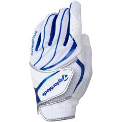 テーラーメイド Taylor Madeインタークロス クールグローブ 5枚セット 22cm 左手着用(右利き用) ホワイト/ブルー
