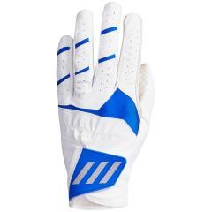 アディダス Adidasフォージドグリップ グローブ 5枚セット 23cm 左手着用(右利き用) ホワイト/ブルー