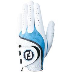 フットジョイ Foot Joyプロフレックス グローブ 5枚セット 25cm 左手着用(右利き用) ホワイト/ブルー
