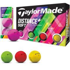 テーラーメイド DISTANCE+Distance+ ソフト マルチカラーボール 3ダースセット 3ダース(36個入り) マルチ