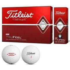 タイトリスト TITLEISTTRUFEEL ボール 1ダース(12個入り) ホワイト