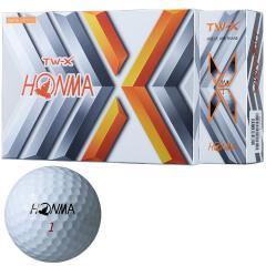 本間ゴルフ TOUR WORLDTW-X ボール 1ダース(12個入り) ホワイト