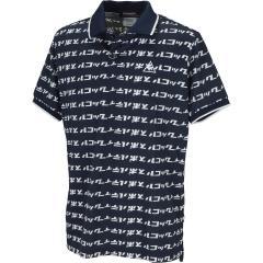ルコックゴルフ Le coq sportif GOLFハニカムメッシュカナロゴプリント半袖ポロシャツ