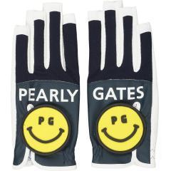 パーリーゲイツ PEARLY GATESネイルスルーメッシュグローブ 両手用 S 両手用 ネイビー 120 レディス
