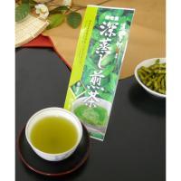 ハラダ製茶 道場六三郎監修 深蒸し煎茶 葵富士 100g
