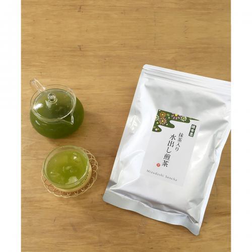 ハラダ製茶 源宗園 抹茶入り水出し煎茶ティーバッグ30P