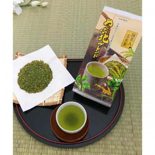 ハラダ製茶 やぶ北ブレンド 抹茶入玄米茶 300g