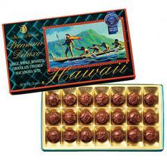 ラージマカデミア デラックスチョコレート(袋付) 1箱