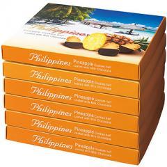 フィリピン パイナップル チョコレートクッキー 1箱
