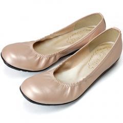 FIRST CONTACT ファーストコンタクト 日本製 パンプス 痛くない スクエアトゥ バレエ 39800 ぺたんこ 2.0cmヒール 歩きやすい 柔らかい 外反母趾 レディース 靴 婦人の画像