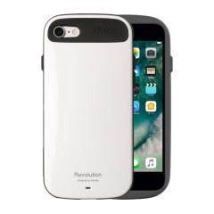 [iPhone 8/7専用]iFace Revolution ケース(ホワイト)