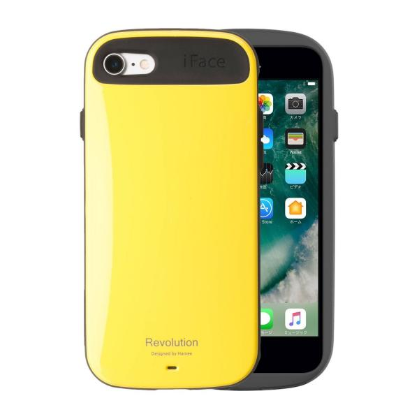 [iPhone 8/7専用]iFace Revolution ケース(イエロー)【12月上旬入荷予定】