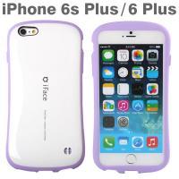 [iPhone 6s Plus/6 Plus専用]iFace First Class Pastelケース(ホワイト/パープル)