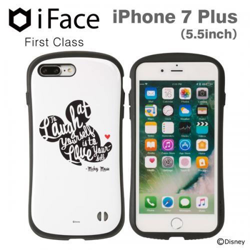 [iPhone 8Plus/7Plus 専用]ディズニーキャラクターiFace First Classケース(ミッキーマウス/フェイス)