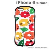 [iPhone 6s/6専用]ムーミンiFace First Classケース(ムーミン&フローレン/パターン)