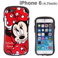 [iPhone 6s/6専用]ディズニーキャラクターiFace First Classケース(ミニーマウス/アップ)