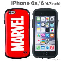 [iPhone 6s/6専用]MARVEL/マーベル iFace First Classケース/ロゴ(レッド)