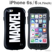 [iPhone 6s/6専用]MARVEL/マーベル iFace First Classケース/ロゴ(ブラック)
