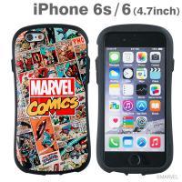 [iPhone 6s/6専用]MARVEL/マーベル iFace First Classケース/コミック(HERO)