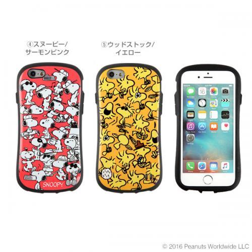 [iPhone 6s/6専用]PEANUTS/ピーナッツ iFace First Classケース(スヌーピー/サーモンピンク)