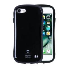 [iPhone 8/7専用]iFace First Classケース ブラック