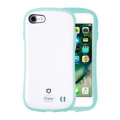 [iPhone 8/7専用]iFace First Class Pastelケース(ホワイト/ミント)