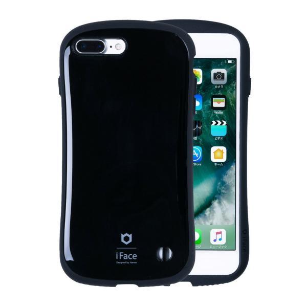 [iPhone 8Plus/7Plus 専用]iFace First Classケース(ブラック)