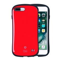 [iPhone 8Plus/7Plus 専用]iFace First Classケース(レッド)