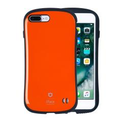 [iPhone 8Plus/7Plus 専用]iFace First Classケース(オレンジ)