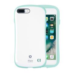 [iPhone 8Plus/7Plus 専用]iFace First Class Pastelケース(ホワイト/ミント)