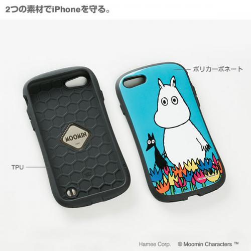 [iPhone 8/7専用]ムーミンiFace First Classケース(リトルミイ/パターン)【2月下旬入荷予定】
