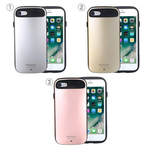 [iPhone 8/7専用]iFace Revolution Metallicケース(ローズゴールド)【3月上旬入荷予定】