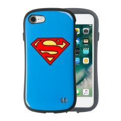 [iPhone 8/7専用]SUPERMAN/スーパーマン iFace First Classケース(スーパーマン/エンブレム)
