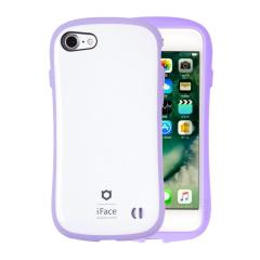 [iPhone X専用]iFace First Class Pastelケース(ホワイト/パープル)