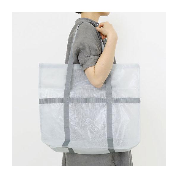 中川政七商店 蚊帳ビニールのトートバッグ