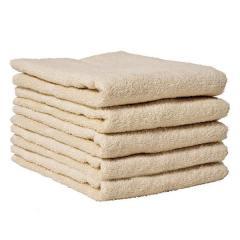 送料無料 お試し タオル フェイスタオル 約34×84cm ベージュ 無地 綿100% デイリータオル ヒオリエ 日織恵 日本製 国産 1枚 やや薄手 シンプル デイリー仕様 吸水 毎日使い 普段使い