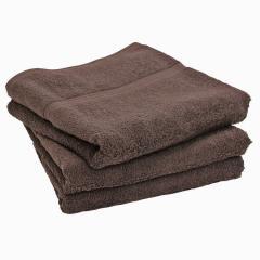バスタオル 同色2枚セット デイリータオル 日本製 チョコブラウン2枚