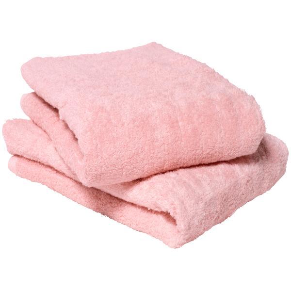 今治タオル バスタオル ふわふわリブタオル 日本製 1枚 モスピンク