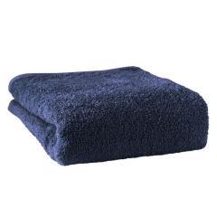 タオル ホテルスタイルタオル バスタオル 約60×130cm ナイトブルー 無地 綿100% モダンカラー 泉州タオル ヒオリエ 日織恵 日本製 国産 1枚 吸水 ふかふか 濃色 ボリューミー