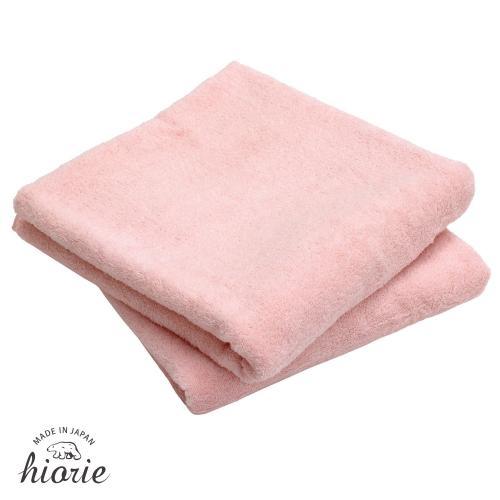 今治タオル バスタオル 同色2枚セット エアリッチ 日本製 ピーチピンク2枚