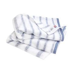タオル 今治タオル バスタオル 約62×120cm ブルー ボーダー 綿100% ミスト mist ヒオリエ 日織恵 日本製 国産 同色2枚セット やや薄手 速乾 吸水 デイリー仕様