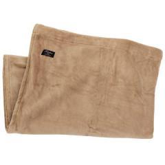 コットン ブランケット 綿 毛布 日本製 1枚 カフェオレベージュ