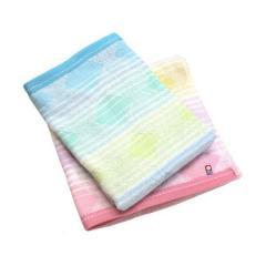 今治タオル バスタオル 2枚セット 幾何ジャガード スクエア 日本製 ピンク1枚+ブルー1枚
