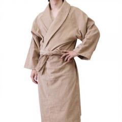 <Lサイズ>日本製 ホテルスタイル バスローブ モカ 【10%OFFクーポン対象&ポイント5倍】