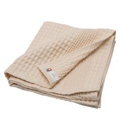タオル 今治タオル バスタオル 約60×125cm ベージュ 無地 綿100% ワッフル ヒオリエ 日織恵 日本製 国産 1枚 薄手 速乾 ワッフル織り