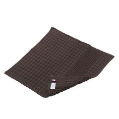 タオル 今治タオル ハンドタオル 約34×35cm チョコ 無地 綿100% ワッフル ヒオリエ 日織恵 日本製 国産 1枚 薄手 速乾 ワッフル織り