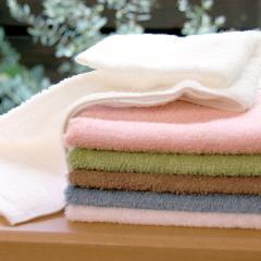 タオル ハンドタオル 約34×43cm オリーブ 無地 綿100% デイリータオル ヒオリエ 日織恵 日本製 国産 1枚 やや薄手 シンプル デイリー仕様 吸水 毎日使い 普段使い