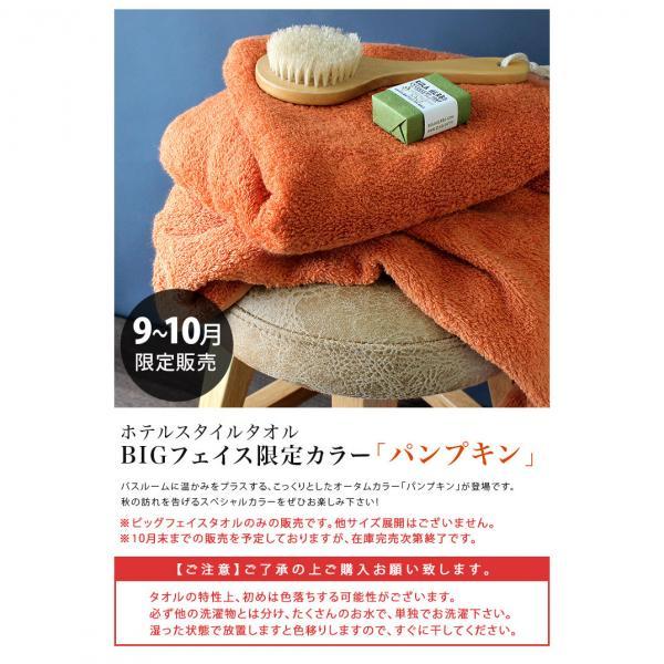日本製 ホテルスタイルタオル ビッグ フェイスタオル 1枚 オフホワイト